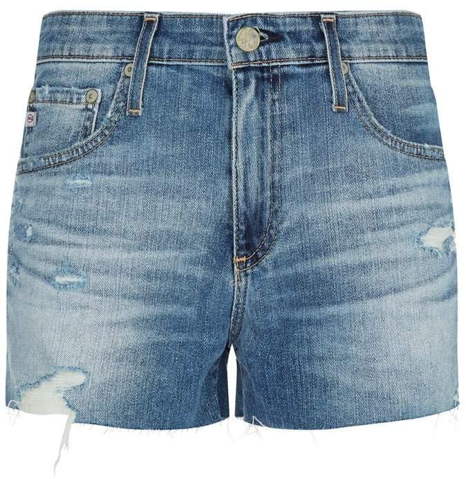 Bryn Raw Hem Shorts