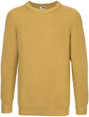 H Beauty&Youth long-sleeve fitted sweater