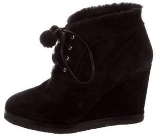 Michael Kors Wedge Ankle Boots