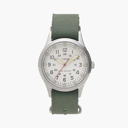 Timex for J.Crew vintage field army watch