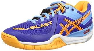 Asics Gel-Blast 6, Women's Handball Shoes, Deep Blue/Nectarine/Soft Blue, (41 1/2 EU)