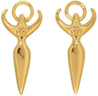 Chloé Gold Femininities Earrings