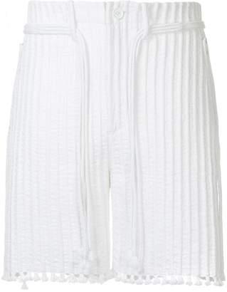 Craig Green cord and tunnel shorts