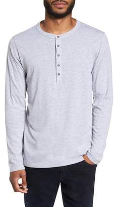 Velvet by Graham & Spencer Slim Fit Long Sleeve Henley