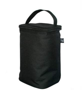 J L Childress Two Cool Double Bottle Bag with Ice Pack - Black
