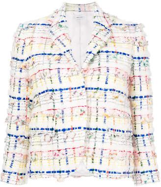 Thom Browne flap pockets tweed jacket