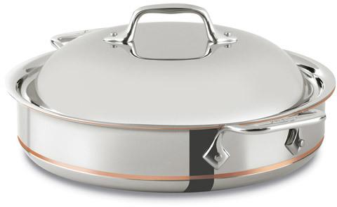 All-Clad Copper Core Sauteuse Pan, 3 quart