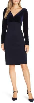 Harper Rose Velvet Bodice Empire Dress
