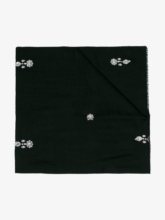 Janavi Jewels embellished merino scarf