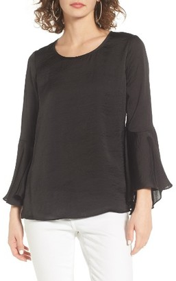 Women's Socialite Bell Sleeve Top $39 thestylecure.com