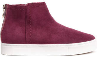 H&M Lined suede boots - Red