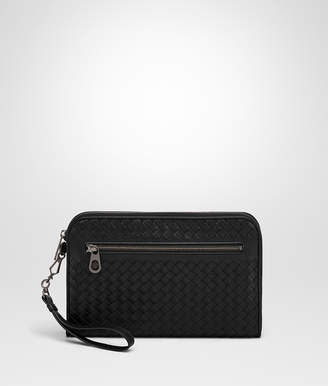 Bottega Veneta NERO INTRECCIATO DOCUMENT CASE