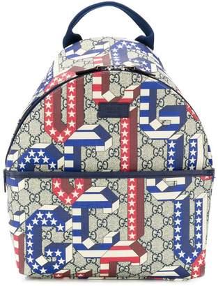Gucci Kids print backpack