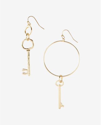Express Mismatch Key Drop Earrings $22.90 thestylecure.com