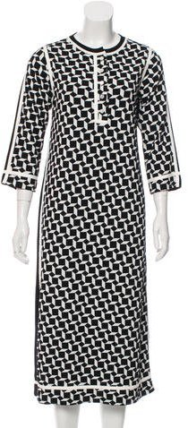 Marc JacobsMarc Jacobs Virgin Wool-Blend Geometric Dress