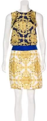 Tibi Sleeveless Printed Dress