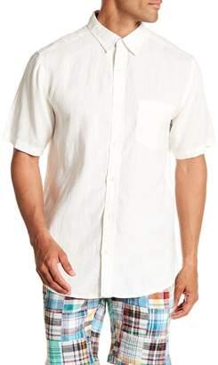 Vintage 1946 Short Sleeve Linen Pocket Regular Fit Shirt