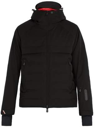 Moncler Achensee Quilted Technical Ski Jacket - Mens - Black