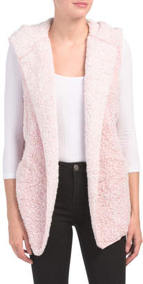 Juniors Frosted Sherpa Vest