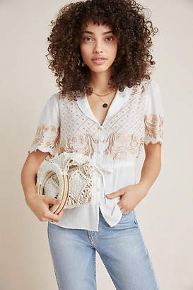 Maeve Kathryn Embroidered Blouse