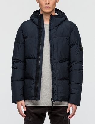 Stone Island Crinkle Reps Ny Down Jacket $735 thestylecure.com