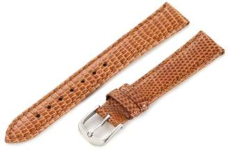 Hadley-Roma Women's LSL715RS 160 16-mm Light Tan Genuine Java Lizard Watch Strap