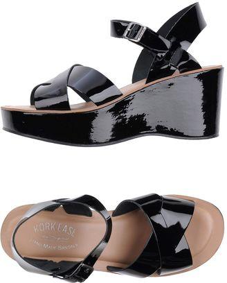 KORK-EASE Sandals $148 thestylecure.com