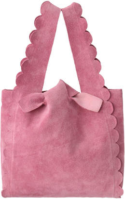 Ludlow (ラドロー) - ラドロー スエードスカラップショッピングバッグ