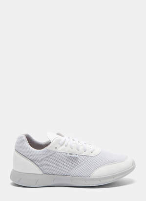 Lunge Damen Neo Run Mesh Sneakers in White and Grey