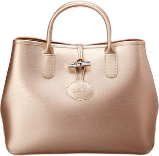 Longchamp Roseau Small Leather Tote