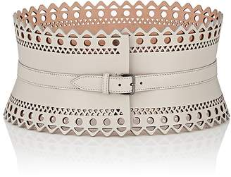 Alaia Women's Leather Wide Belt