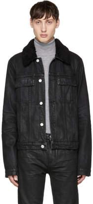 Helmut Lang Black Denim Mr 87 Jacket