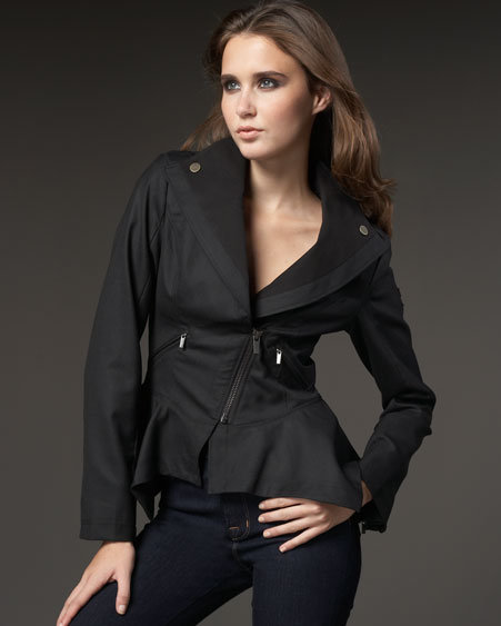 William Rast Peplum Blazer
