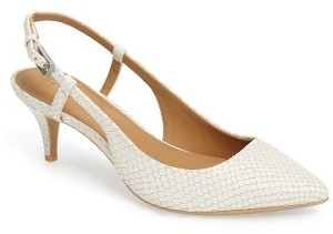 Women's Calvin Klein 'Patsi' Slingback Pointy Toe Pump $98.95 thestylecure.com