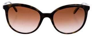 Tiffany & Co. Tortoiseshell Gradient Sunglasses