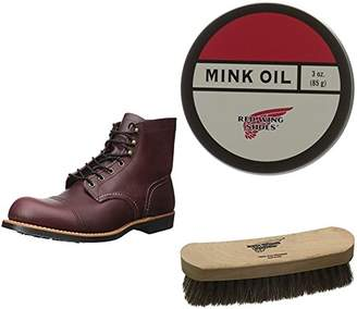 """Red Wing Shoes Men's Iron Ranger 6"""" Boot and Shoe Care Set"""