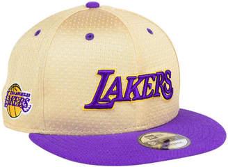 the best attitude 2e5e2 2712d New Era Los Angeles Lakers Champagne 9FIFTY Snapback Cap
