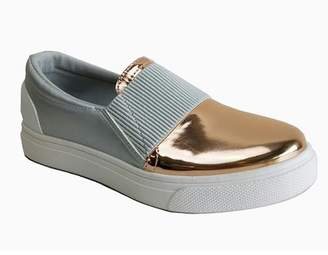 Refresh Pearl Colorblock Slip-On Sneaker $37.99 thestylecure.com