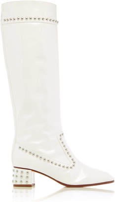 Maryam Nassir Zadeh Kiki Patent Leather Tall boot