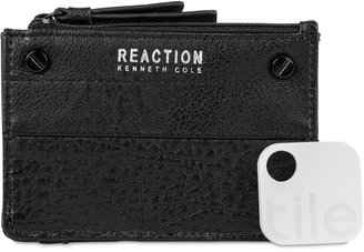 Kenneth Cole Reaction RFID Key Coin Purse with Tracker $68 thestylecure.com