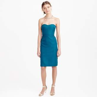J.Crew Rory strapless dress in classic faille