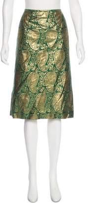 Lafayette 148 Brocade Pencil Skirt w/ Tags