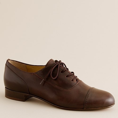 Elsbeth leather oxfords