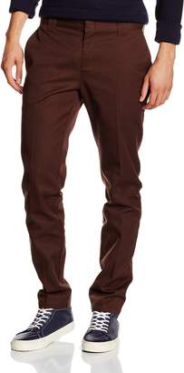 Dickies WP872 Slim Fit Work Chino Pant Dark