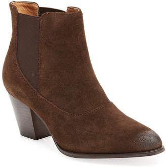 Corso Como Cobleskill Leather Ankle Bootie
