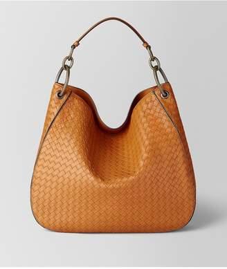 Bottega Veneta Orange Intrecciato Nappa Hobo Bag