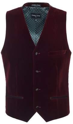 Paisley & Gray Eaton Velvet Slim Fit Tuxedo Vest