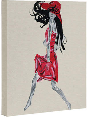 Deny Designs Red Dress By Amy Smith