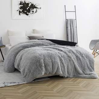 Byourbed Coma Inducer Duvet Cover - Are You Kidding? - Glacier Gray/Black