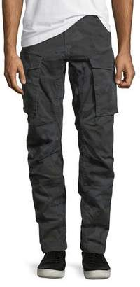 G Star G-Star Rovic Camo-Print 3D Zip Cargo Pants
